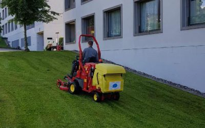 Rasenmäher-Express ist wieder unterwegs…