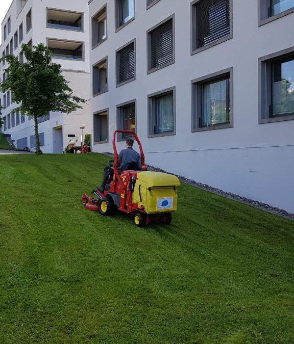 Rasenmäher-Express ist wieder unterwegs… (Video)
